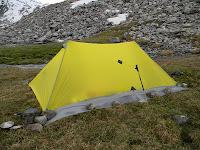 легкая палатка самодельная