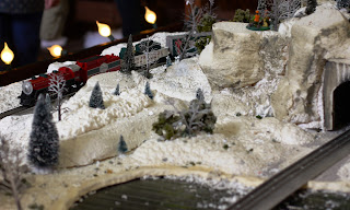 Toy Train at Santa Land at Bass Pro Shops