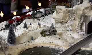 Toy Train at Santa Land at Bass Pro Shops