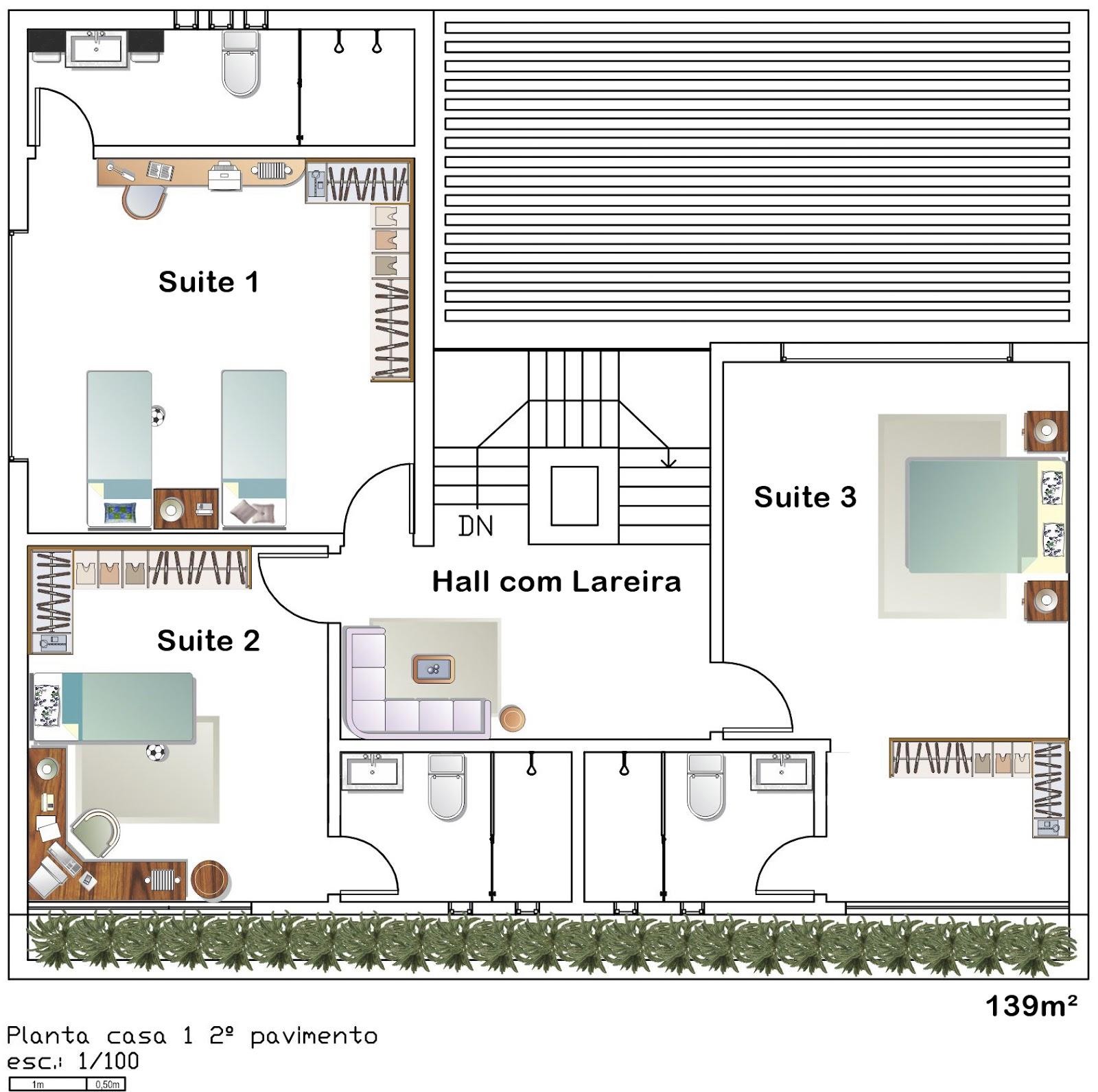 Liciara Barreto Projetos Arquitetônicos: Projeto casa  #734A2F 1600 1591