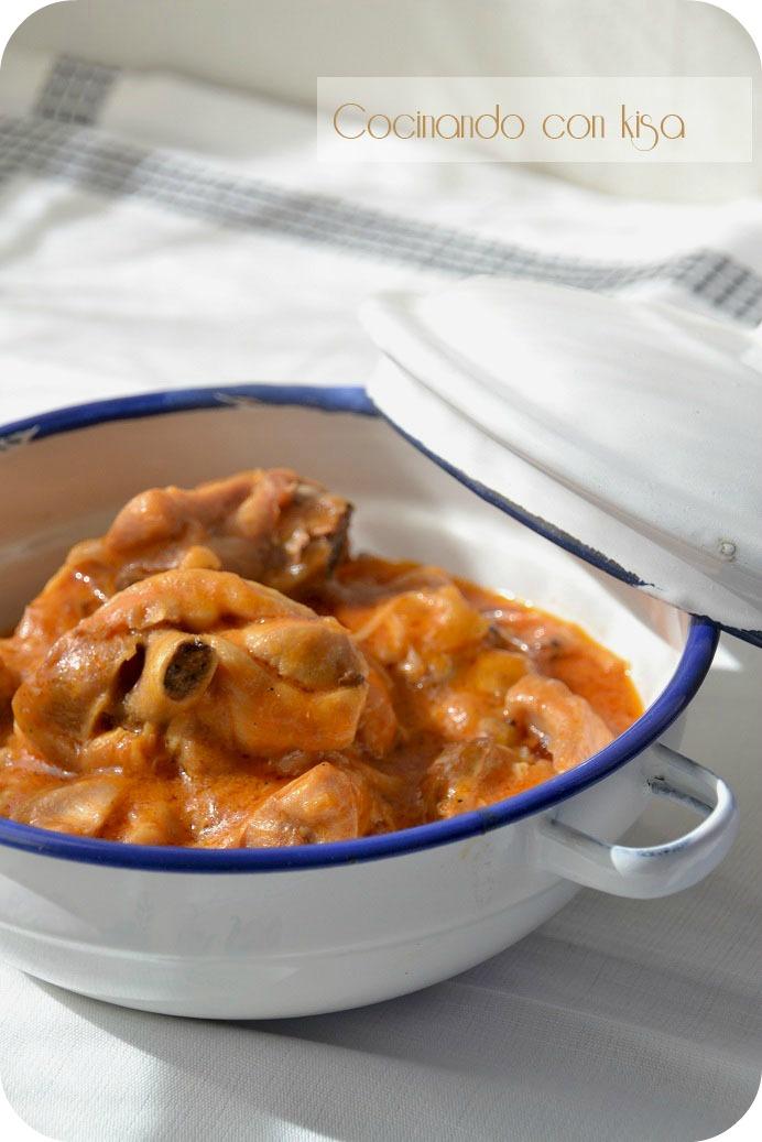 Cocinando con kisa pollo con tomate y nata fussioncook - Salsa de tomate y nata ...