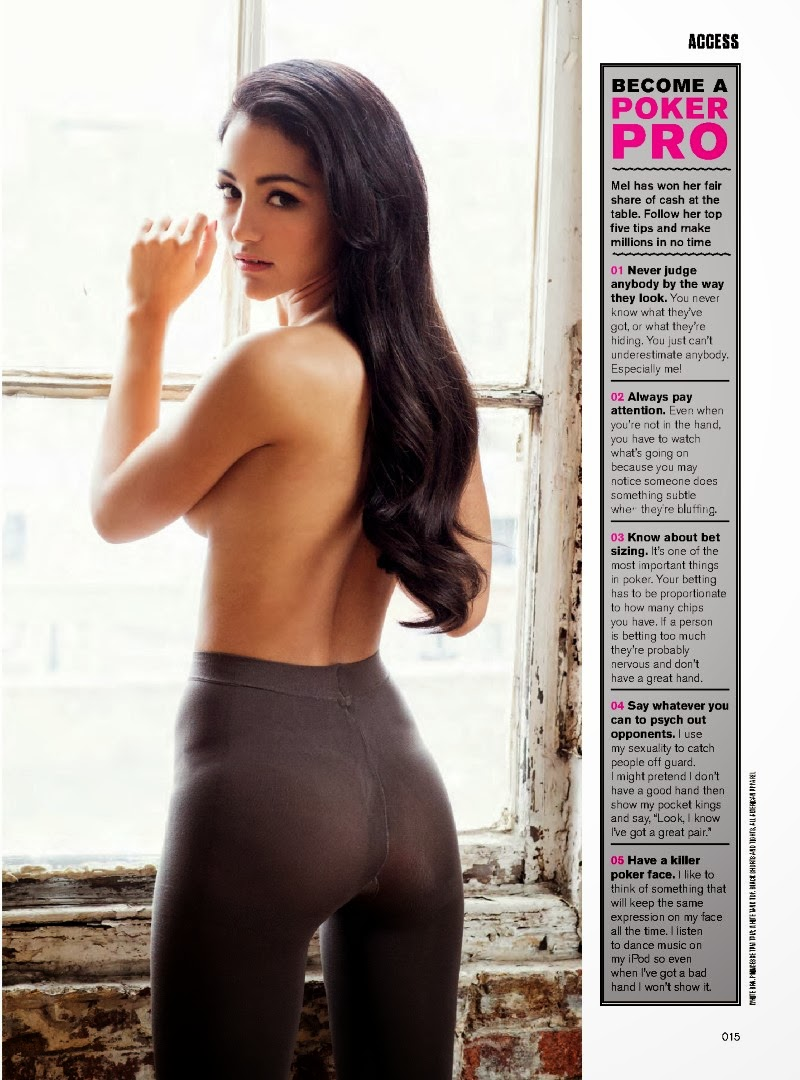 Magazine Photoshoot : Melanie Iglesias Photoshot For FHM Magazine UK February 2014 Issue