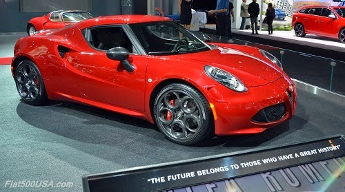 alfa romeo at the 2015 new york auto show fiat 500 usa. Black Bedroom Furniture Sets. Home Design Ideas