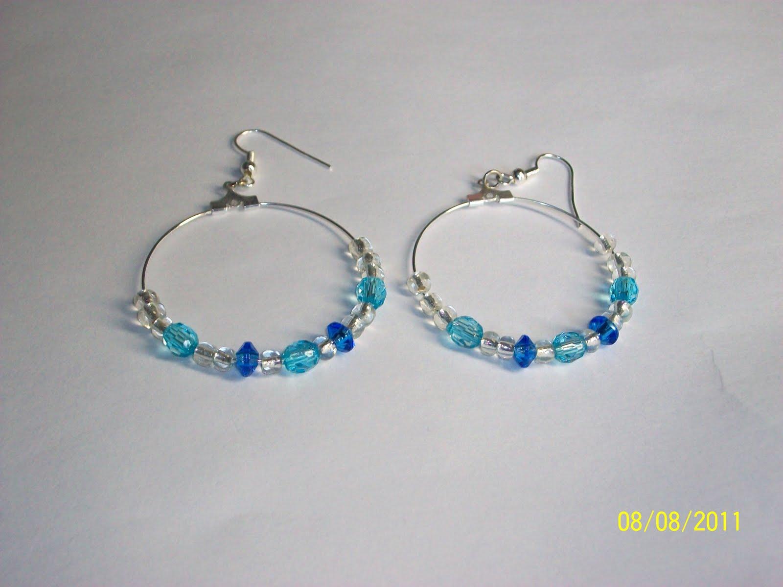 Image Result For Colored Hoop Earrings