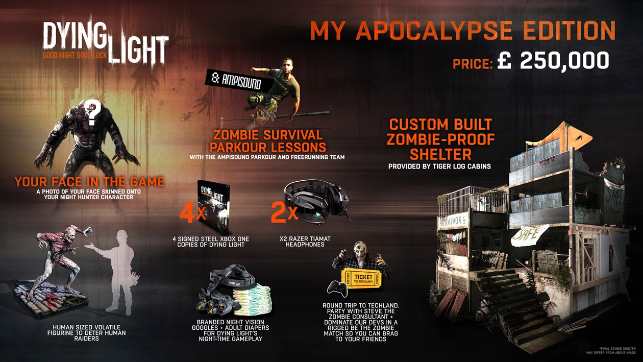Dying Light - My Apocalypse Collectors Edition Announced - We Know Gamers