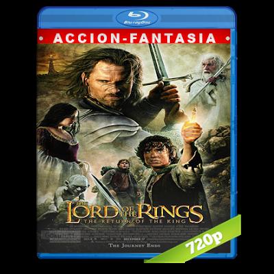 El Señor De Los Anillos 3 (2003) BRRip 720p Audio Trial Latino-Castellano-Ingles 5.1