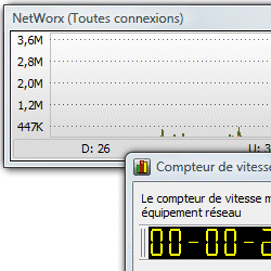 capture d'écran de NetWorx