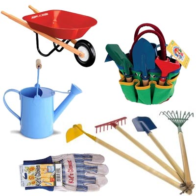 Gardening tools 122211 vector clip art free clip art images for Childrens gardening tools