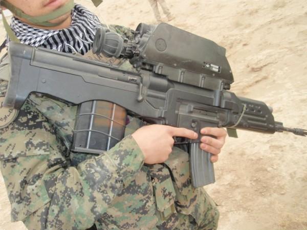 South Korean K11 Dual- Caliber Air-Burst Assault Rifle ...