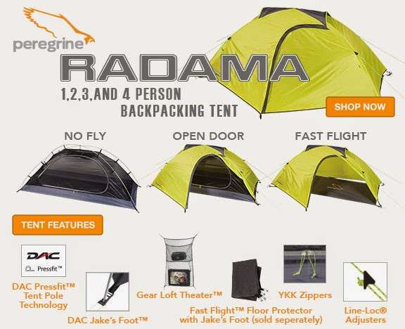 Peregrine C&ing Equipment is one of the many brands exclusively distributed in the U.S. by Liberty Mountain. Visit LibertyMountain.com or contact the ...  sc 1 st  Everything For The Outdoors & Everything For The Outdoors: Gear Review: Peregrine Radama 1 Tent