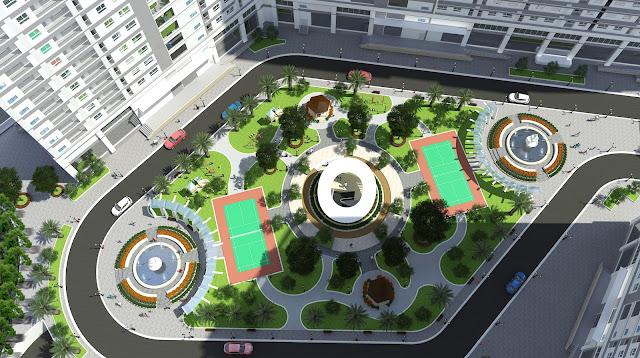 Tiện ích dự án chung cư xuân mai sparks tower