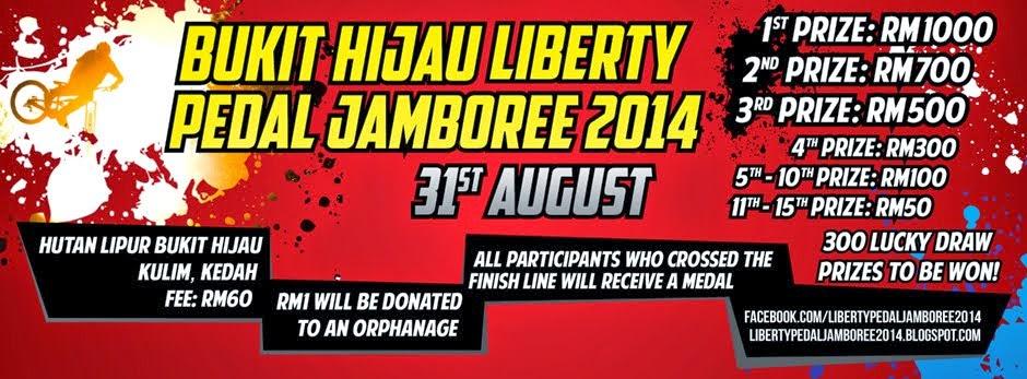 Bukit Hijau Liberty Pedal Jamboree 2014