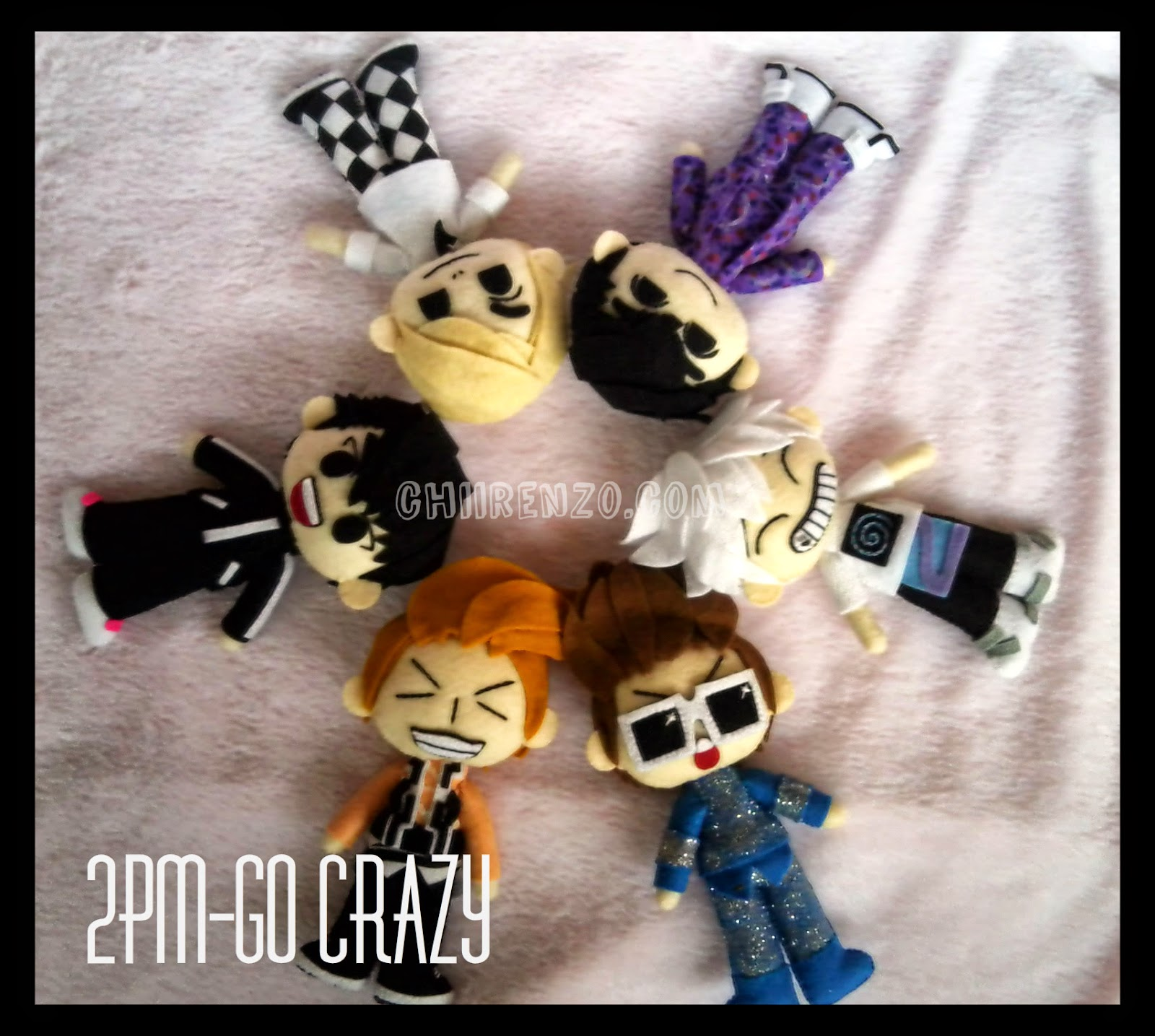 Go crazy 2pm plush doll