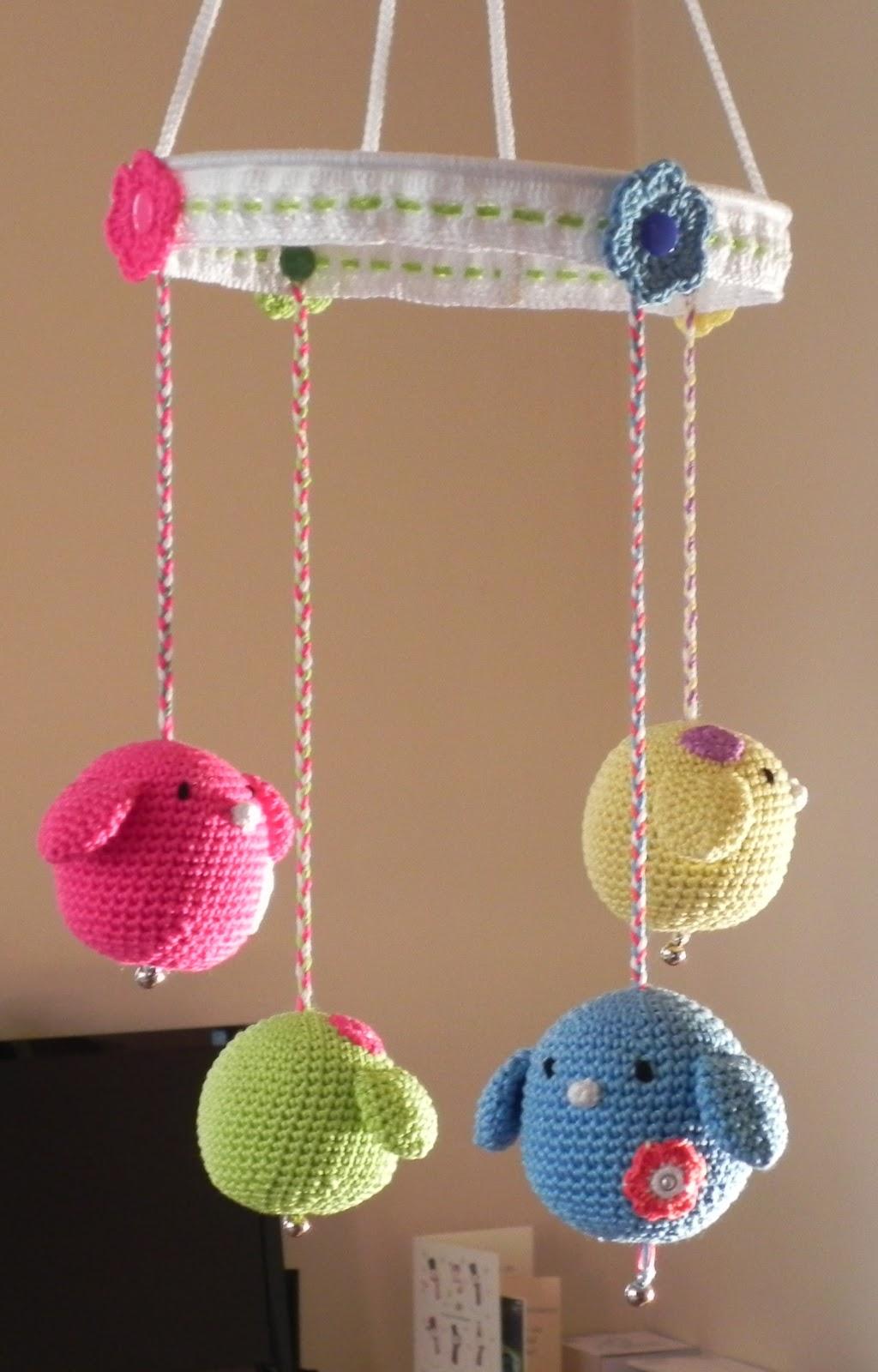Crochet Baby Mobile Patterns : Haak Maar Aan: mobiel voor Maudje