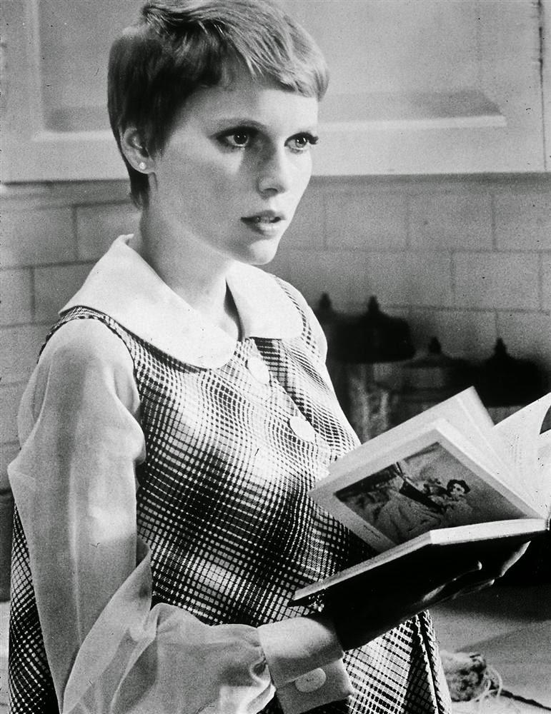 Актриса Миа Фэрроу в фильме Полански 1968 года «Ребенок Розмари»