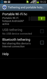 Using Samsung Mobiles as a modem