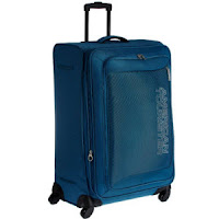 Buy American Tourister Small (Below 60 Cm) 4 Wheel Soft Purple Velocity Luggage Trolley at Rs. 3597 : BuyToEarn