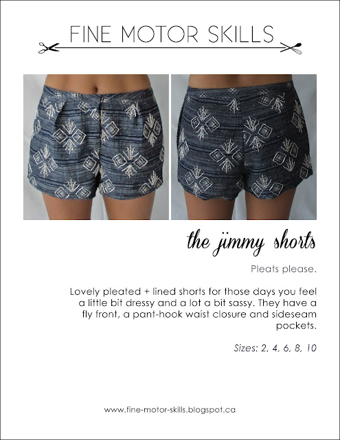 jimmy shorts with free pattern