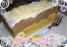 Sajian Brownies Ubi Campur Keju Dapur Cantik