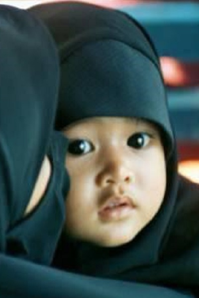 Photo bébé bel hijab