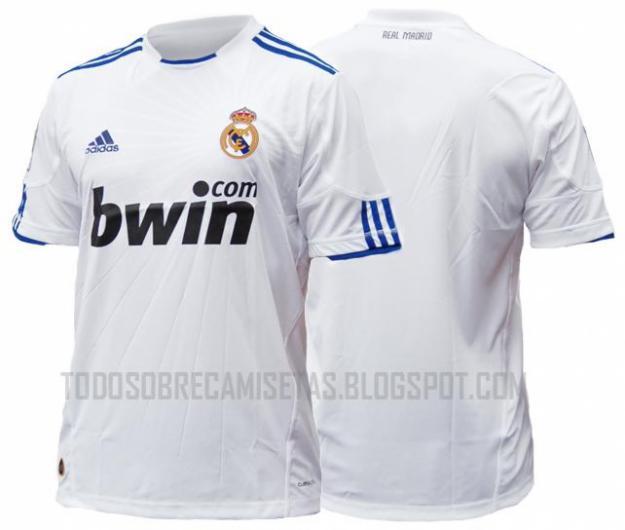 camiseta adidas de el real madrid