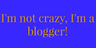 You Are A Blogger When...