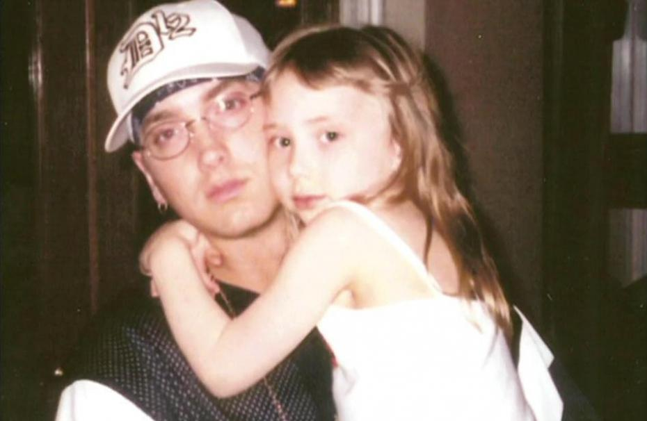 Eminem and daughter