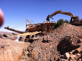 Gold wash plant - pumping out the gold since 1938