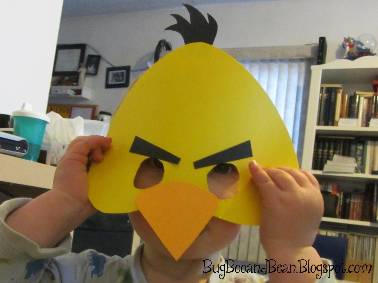 Bug boo and bean angry bird masks printable angry bird masks printable maxwellsz