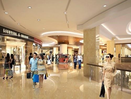 Trung tâm thương mại đầy đủ dịch vụ