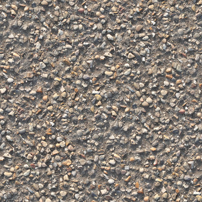 Seamless cobblestones at sunset texture