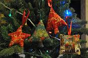Decori natalizi imbottiti