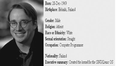 profile Linus Torvalds