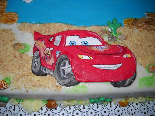 Mis Tortitas Decoradas: torta disney de cars