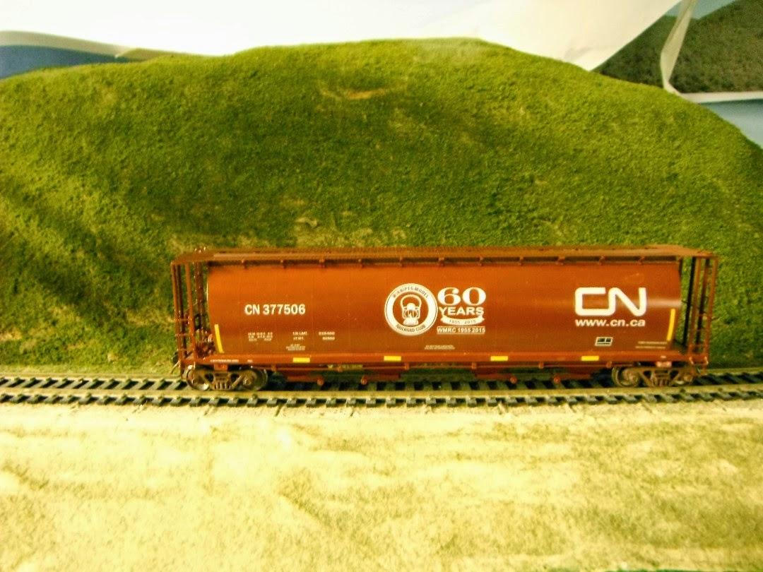 cn rail helps celebrate winnipeg model railroad club s 60th anniversary