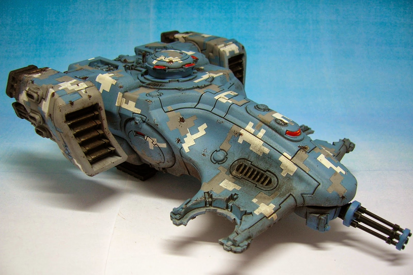Twitchy Droid Painting Services: Tutorial: Painting digital camouflage on a Tau Dev...