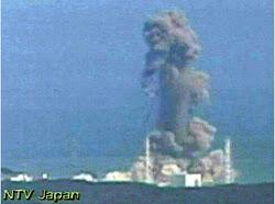 FUKUSHIMA REACTOR EXPLOSION