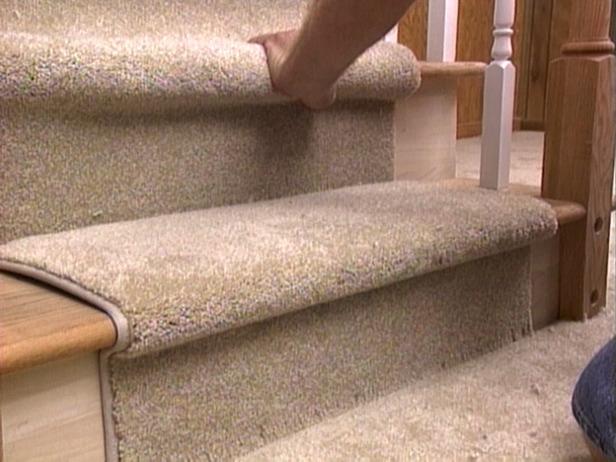 indoor outdoor carpet installation stairs