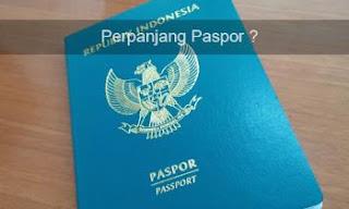 Cara Perpanjang Paspor Secara Online