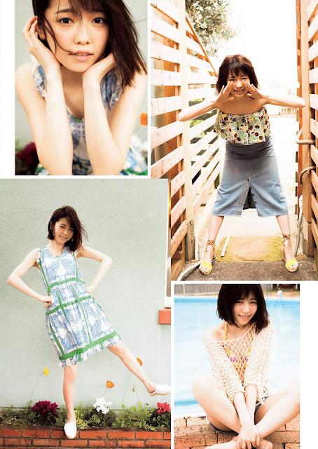 島崎遥香 Haruka Shimazaki Weekly Playboy June 2015 Pictures 3