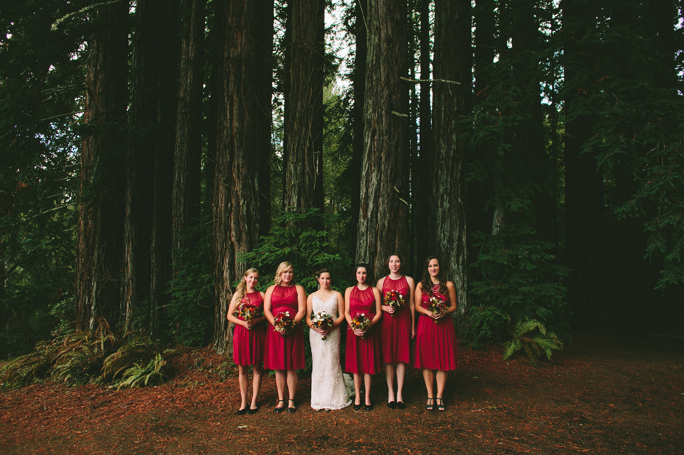 Wedding in the Red Woods