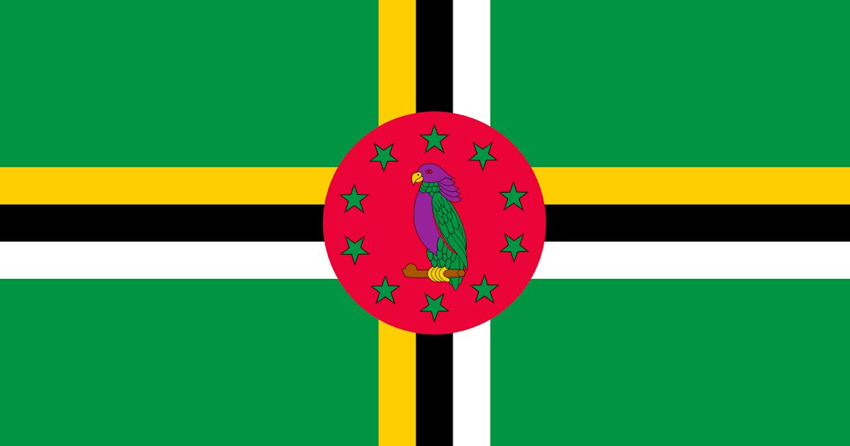 Resultado de imagen para dominica isla bandera