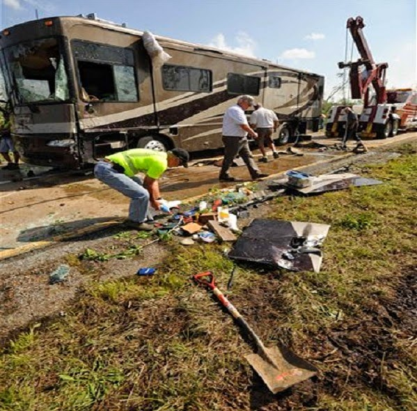 What happens to an RV After Driving Through a Tornado