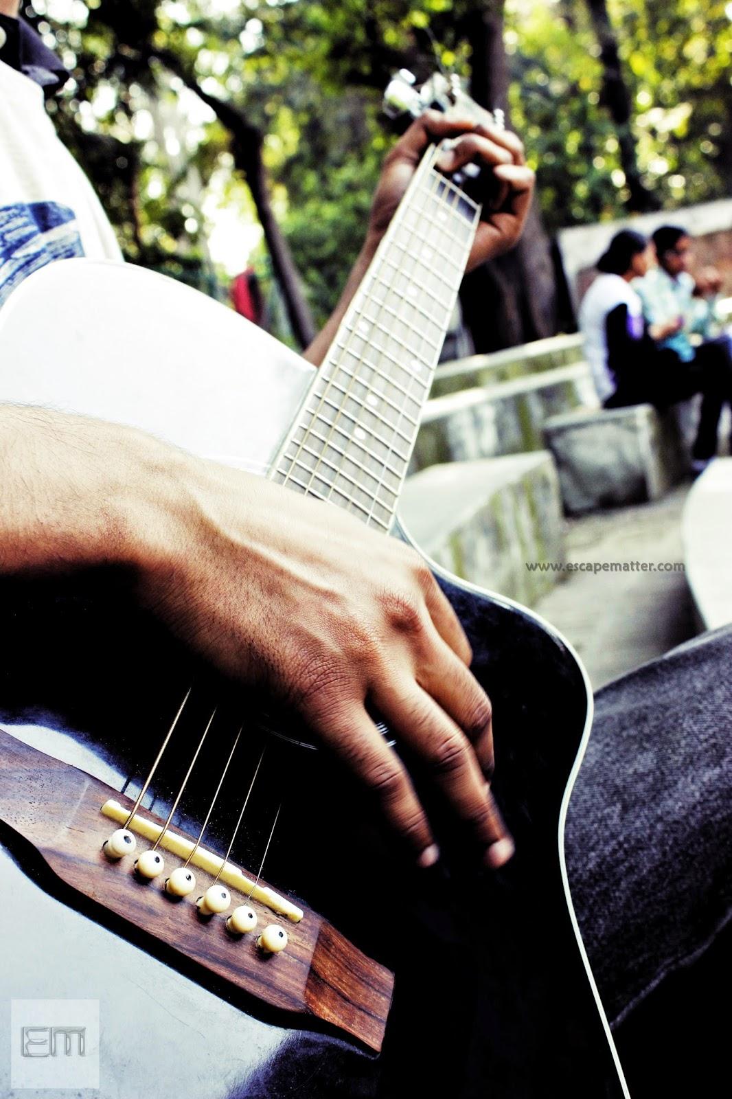 Romantic Poem, Guitar, Escape Matter
