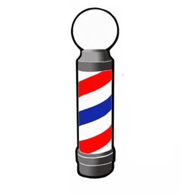Animated Barber Pole Barber Necklace...