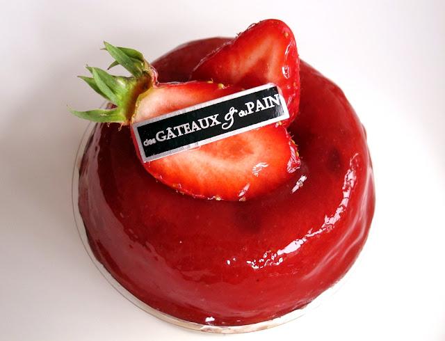 Des Gâteaux et du Pain - Baba à la fraise