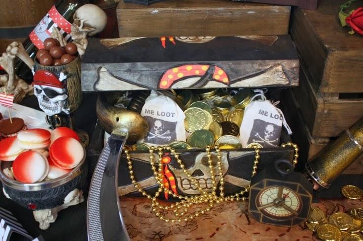 Decoración de Fiestas Infantiles de Piratas