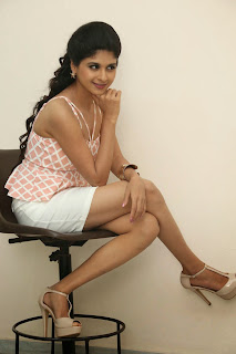 Naveena Latest Pictures in Mini Skirt at Ice Cream 2 Press Meet