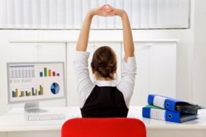 Simple Desk Excercises can make you fitter
