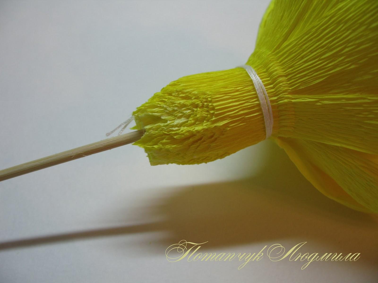 Цветы из гофрированной бумаги своими руками - Мир Позитива 12